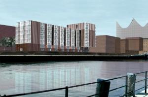 Alten Wohnen, 80 WE, Wettbewerb Hafen City 1.Preis - Hamburg