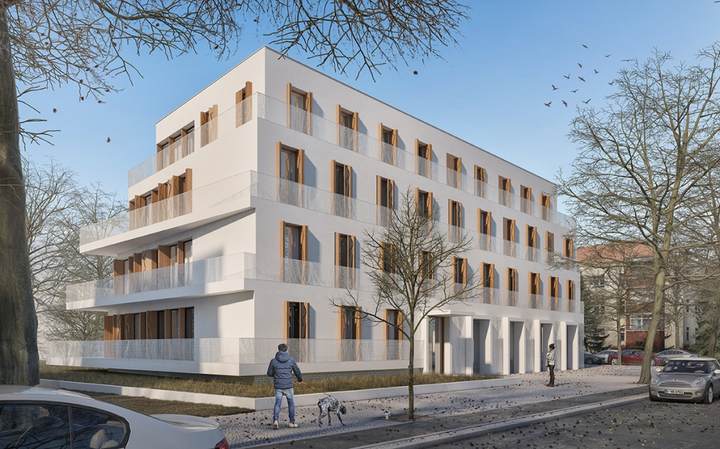 Wohn- und Geschäftshaus, 16 WE-Schmargendorf, Berlin