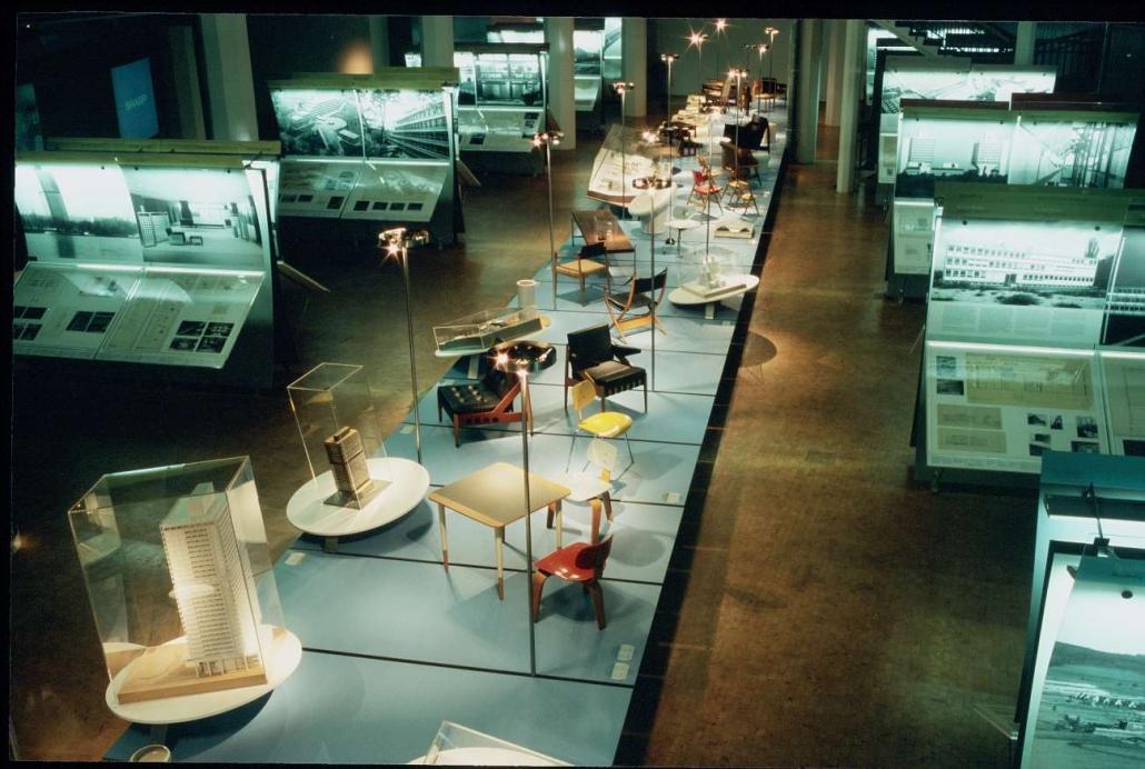Eiermann Ausstellung - Karlsruhe, Nürnberg, Berlin