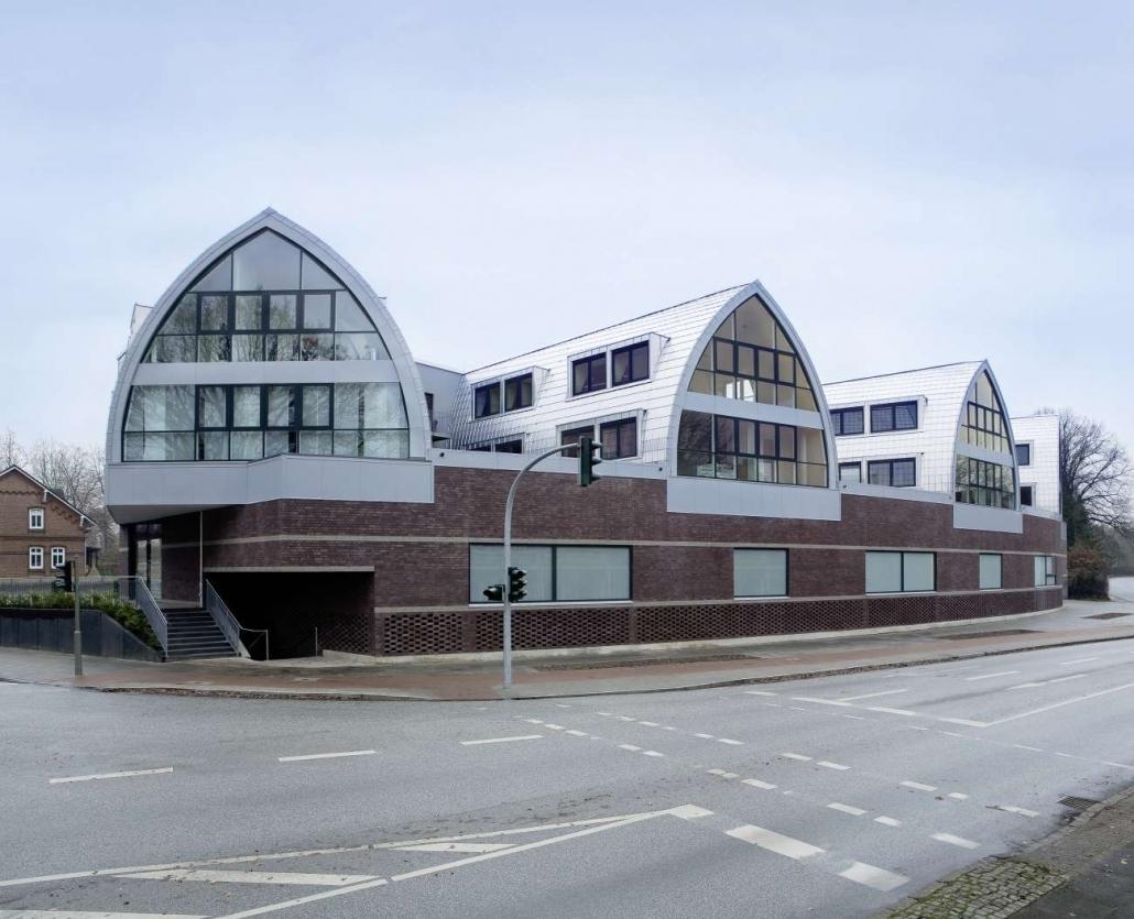 Geschäftshaus, Marktplatz Wellingsbüttel - Hamburg