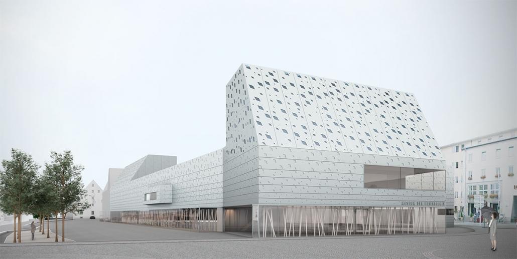 Museum für Bayrische Geschichte, Wettbewerb - Regensburg