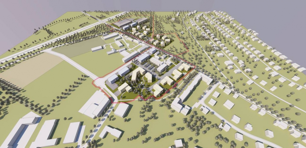 Städtebauliche Planungsstudie - Kleinmachnow, Brandenburg